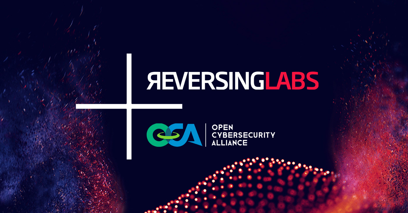 ReversingLabs Joins Open Cybersecurity Alliance as a Founding Sponsor
