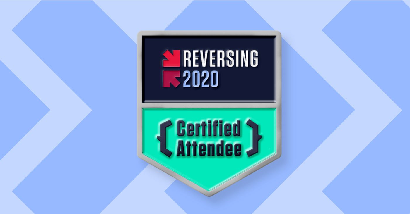 REVERSING 2020 Digital Badge