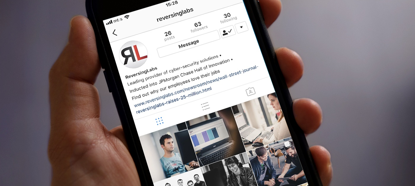 ReversingLabs presents the official RL Instagram account