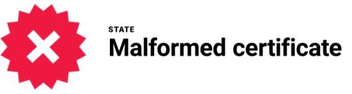 malformed-certificate