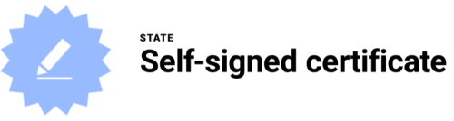 self-signed-certificate