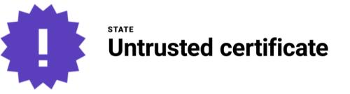 untrusted-certificate