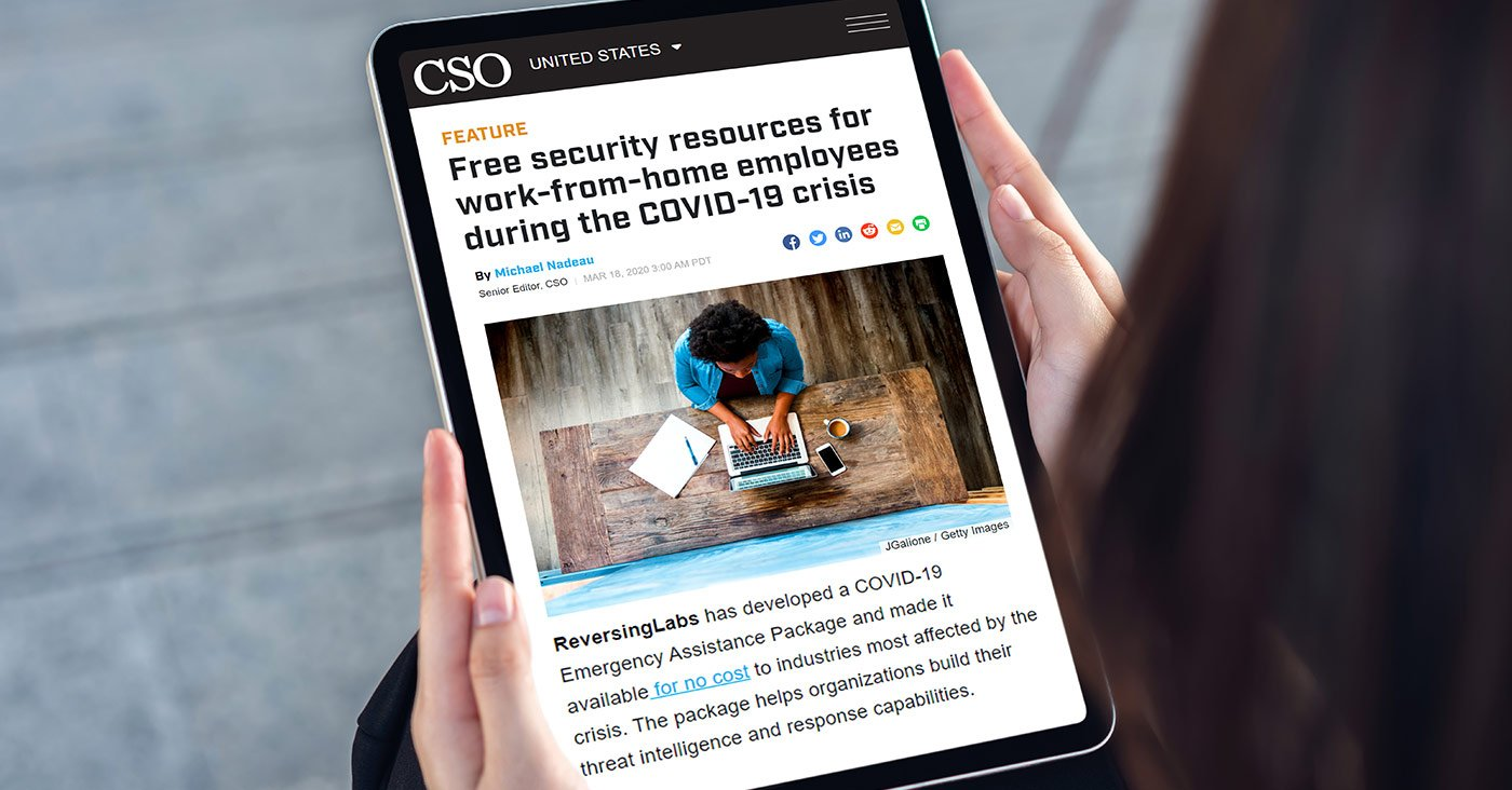 Free security resources for work-from-home employees during the COVID-19 crisis