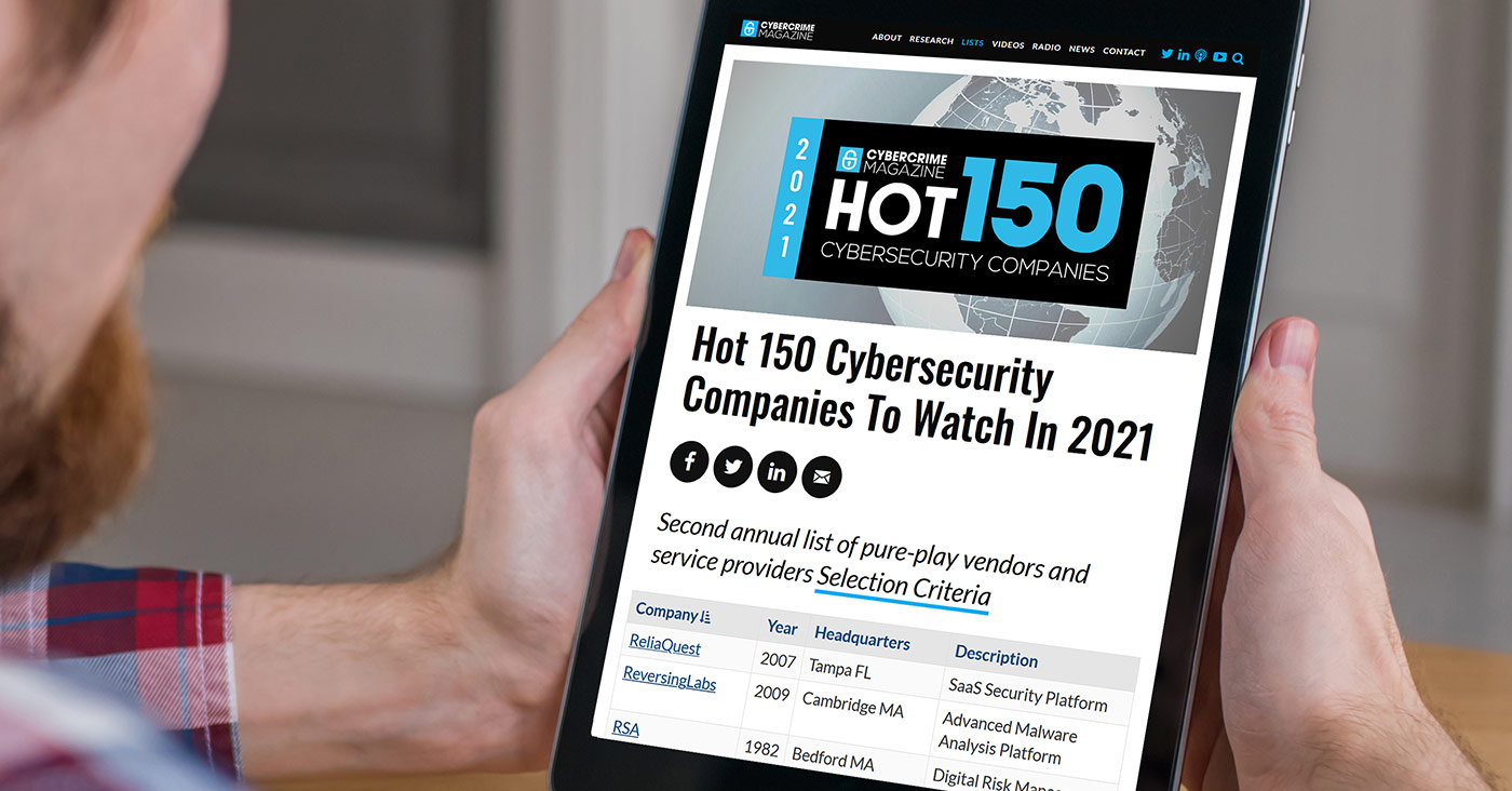 In-the-News-Hot-150-Cybersecurity-Companies-ReversingLabs