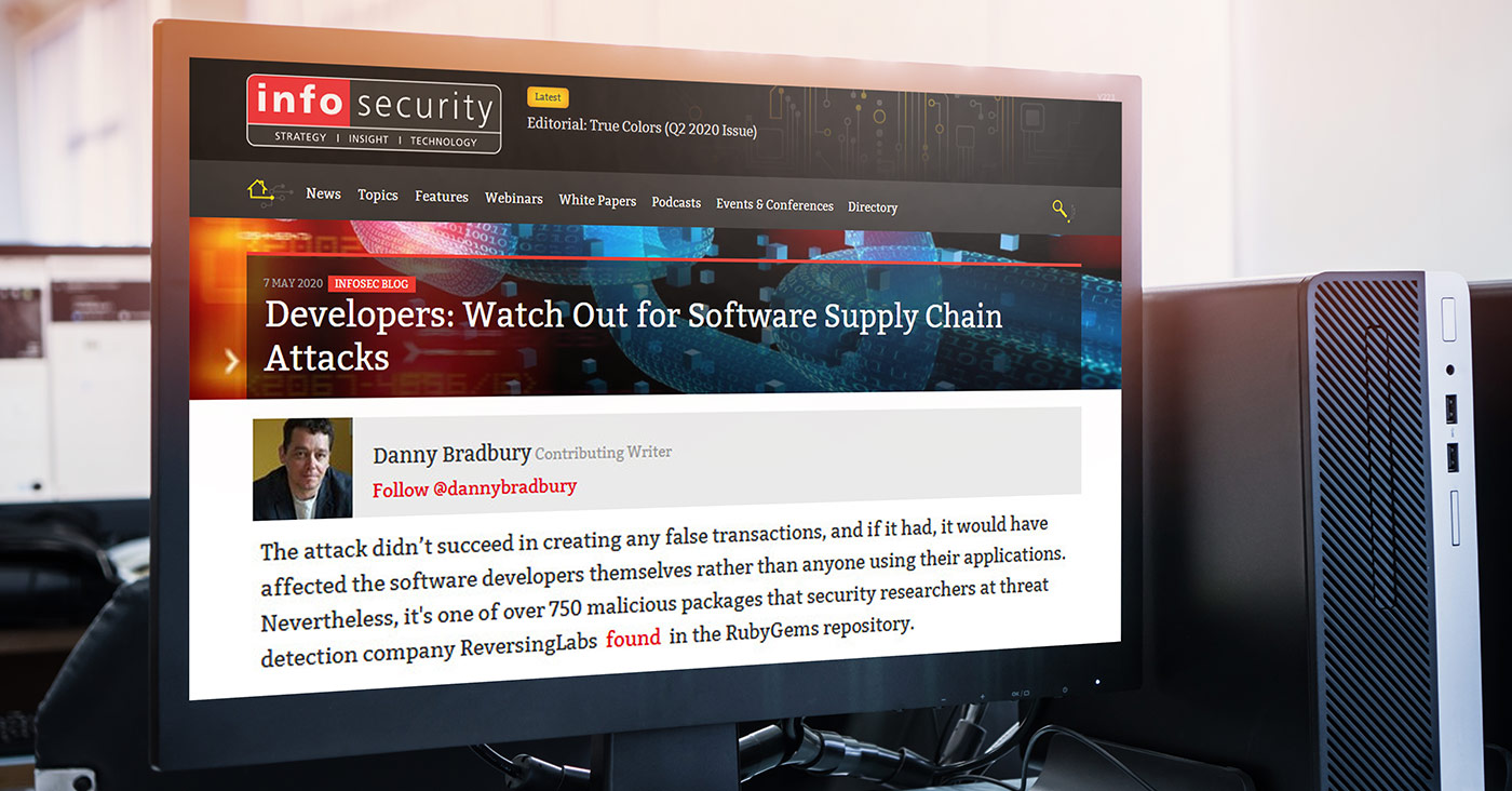 In-the-News-Infosecurity-Developers-Watch-Out-for-Software-Supply-Chain-Attacks