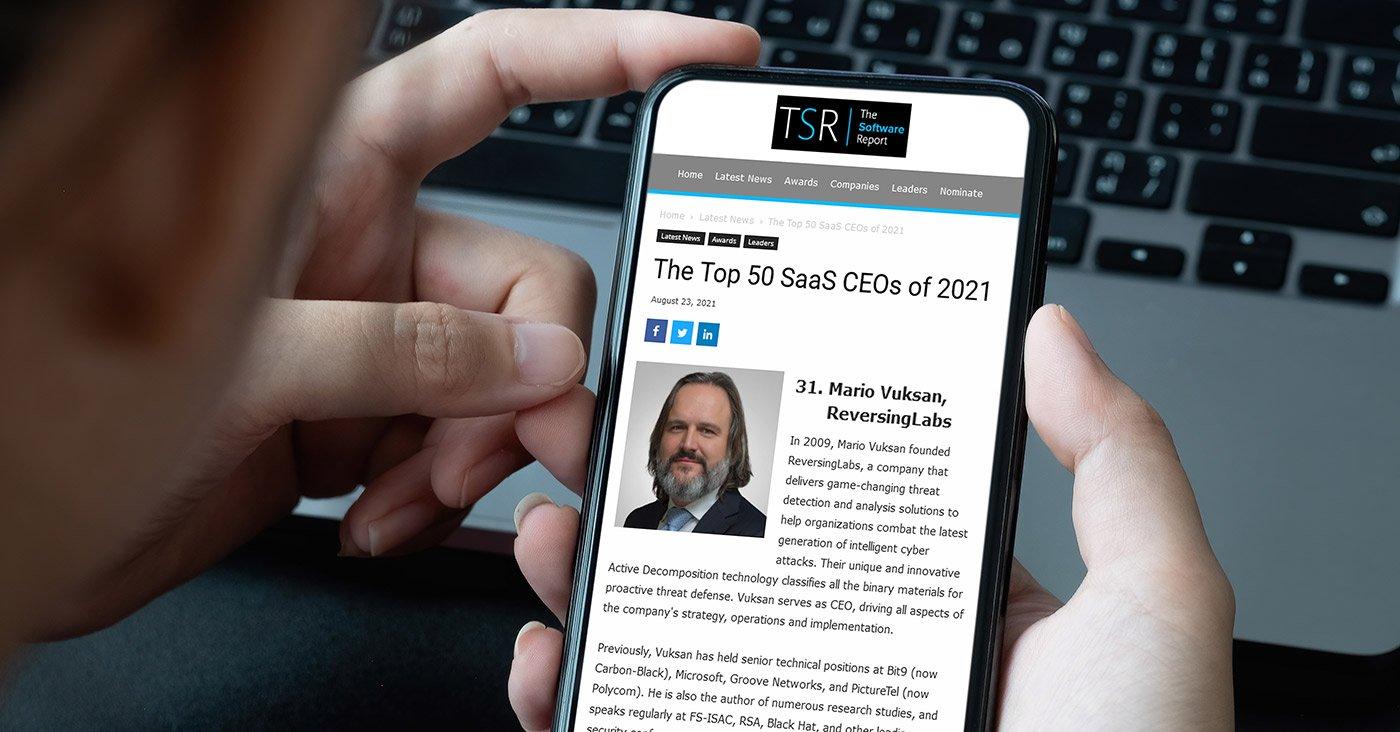 Top 50 SaaS CEOs of 2021
