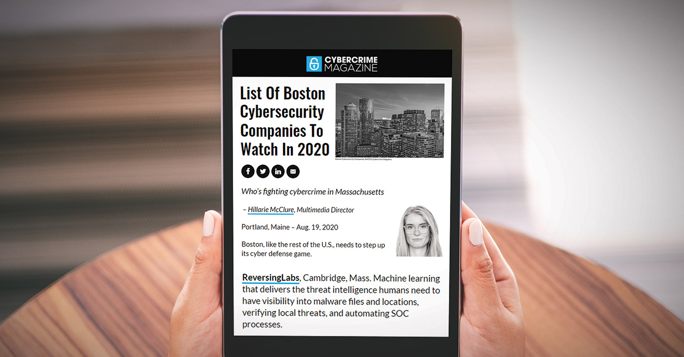 List Of Boston Cybersecurity Companies To Watch In 2020