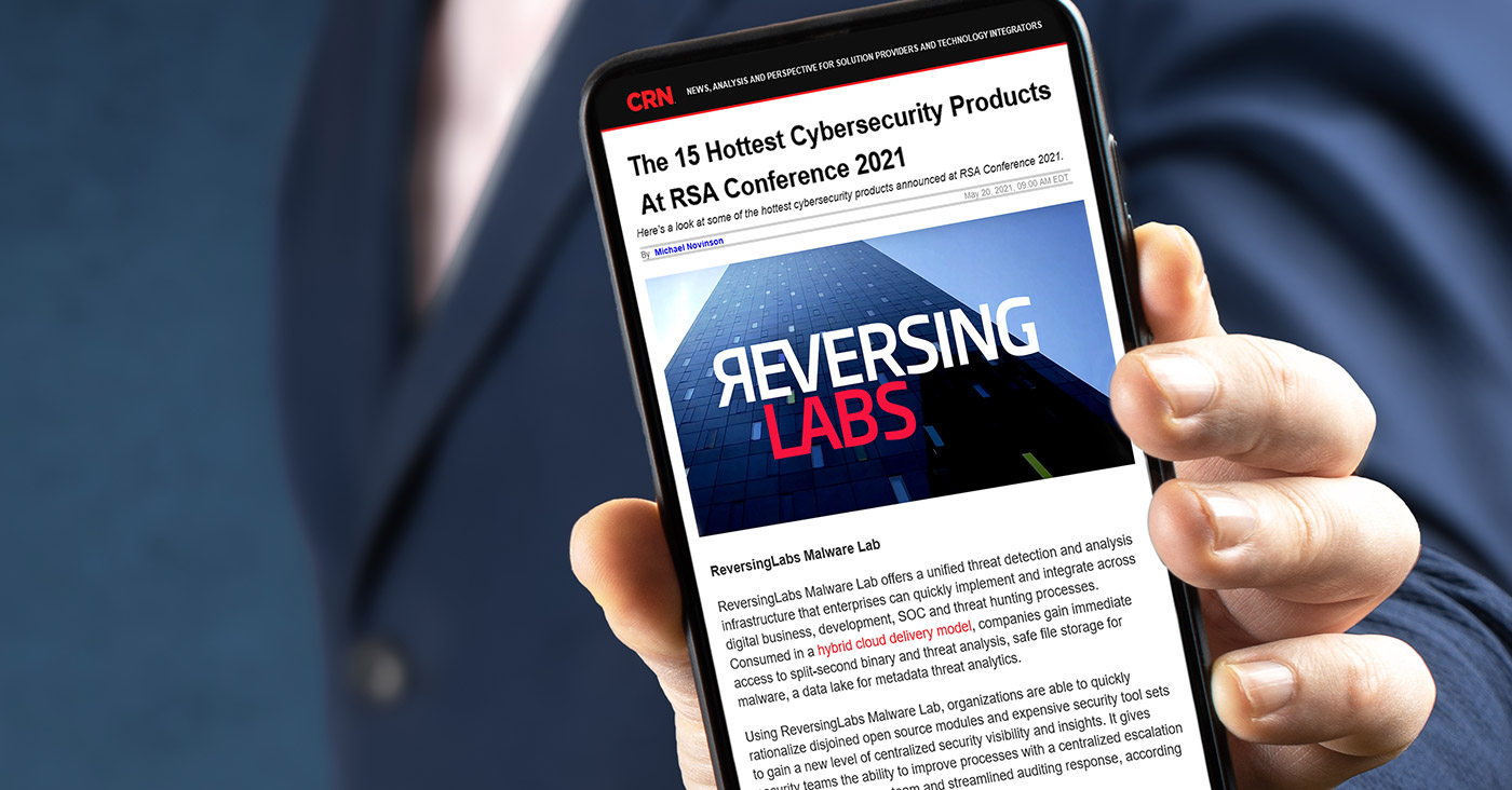 CRN about the ReversingLabs