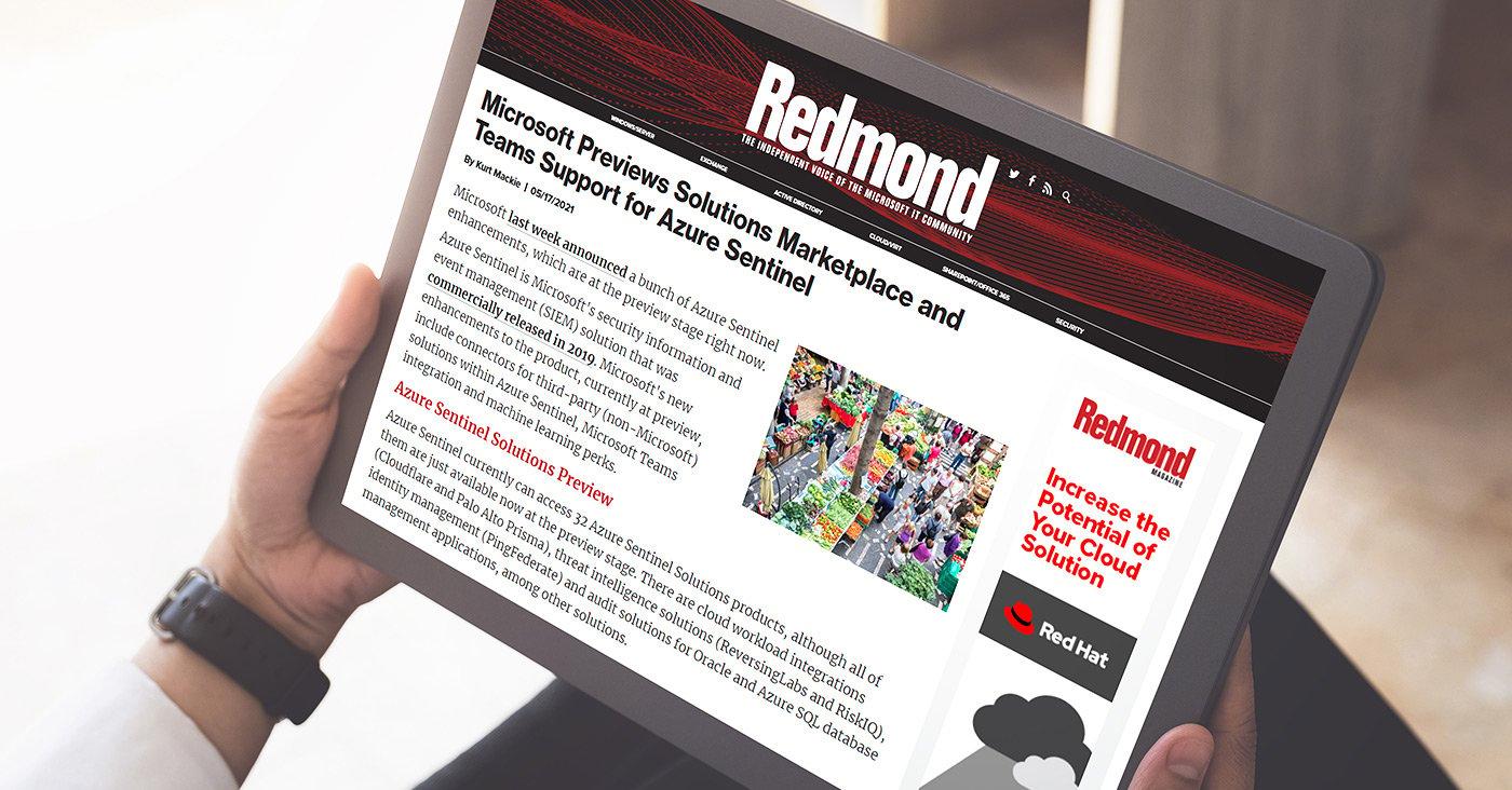 Redmond about the ReversingLabs