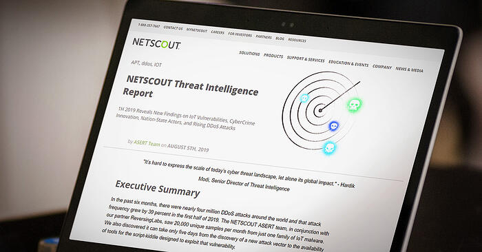 ReversingLabs contributes to NETSCOUT Threat Intelligence Report, Findings from H1 2019