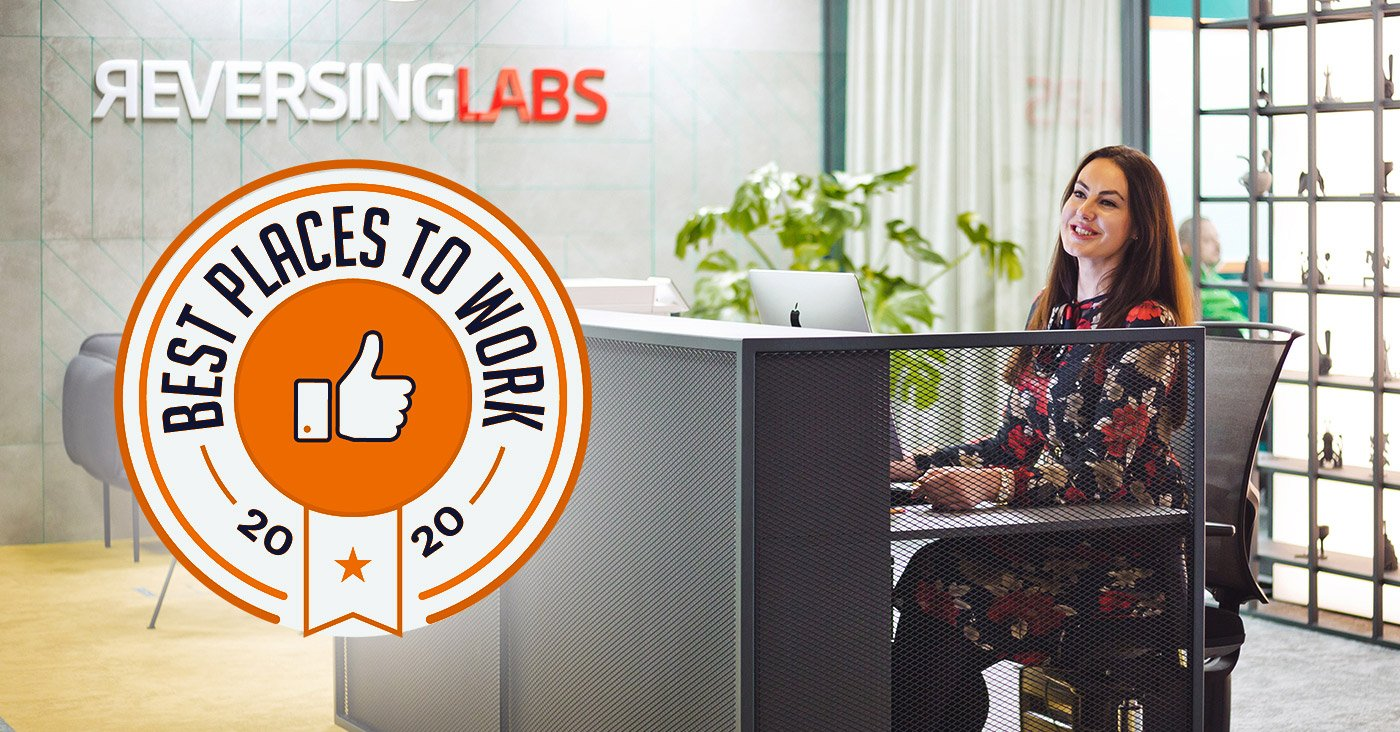 ReversingLabs Named as One of the Best Places to Work