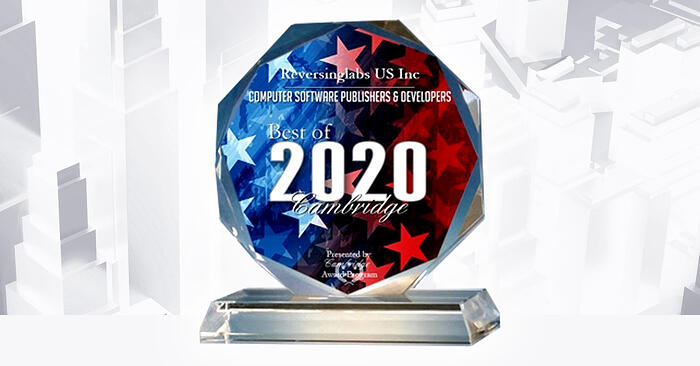 Reversinglabs-Receives-2020-Best-of-Cambridge-Award