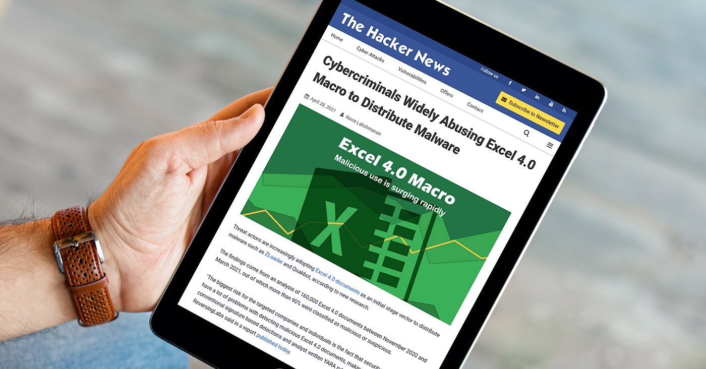 The-Hacker-News-ReversingLabs-Macros-Excel-Malware