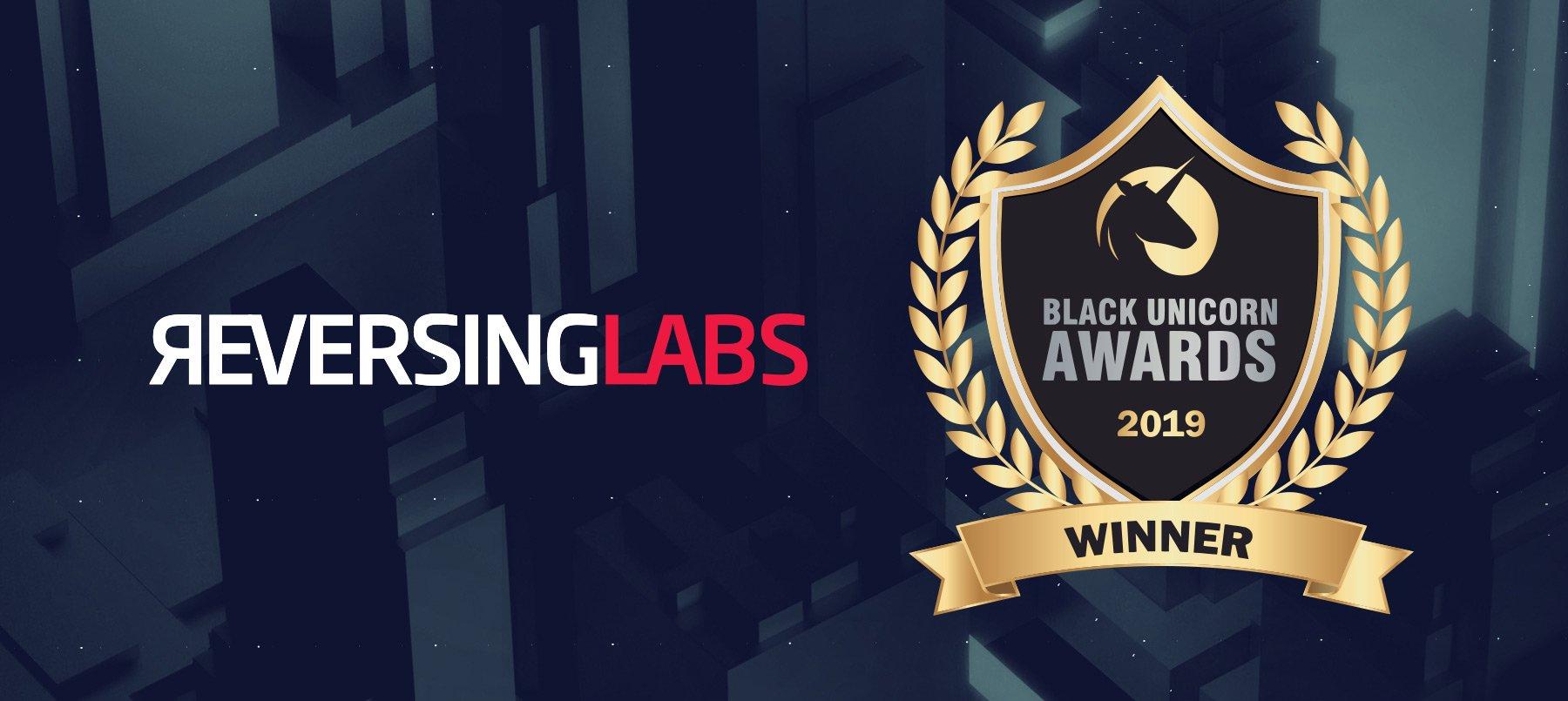 ReversingLabs Named a Winner in 2019 Black Unicorn Awards