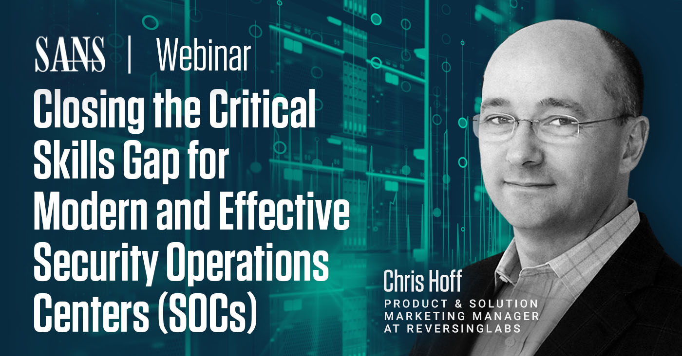 Critical Skills Gap for Modern and Effective Security Operations Centers (SOCs)