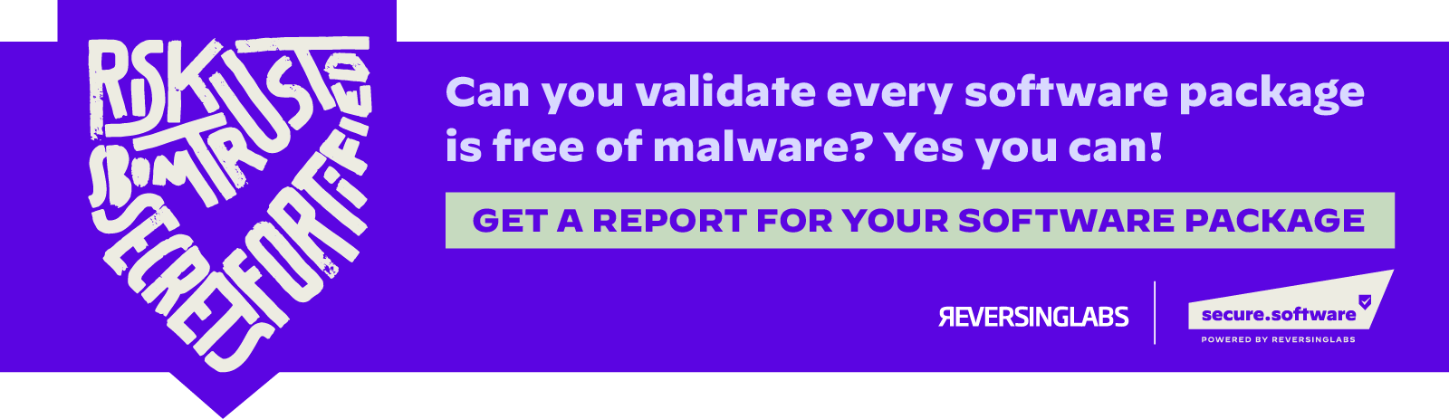 Get a report for YOUR software package