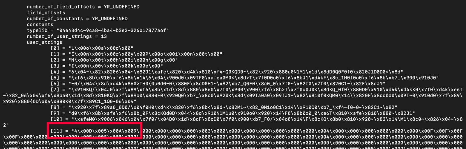 Debugging Output from YARA's Dotnet Module