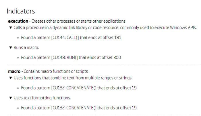Files3 indicators