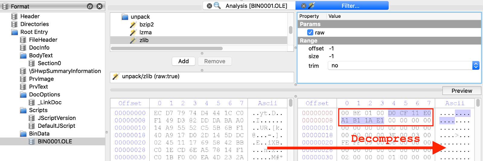 BinData Stream with Compound File