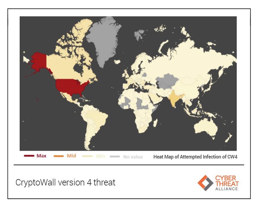 CryptoWall version 4 threat