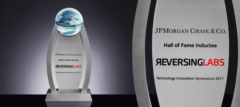 ReversingLabs Receives JPMorgan Chase Hall of Innovation Award!