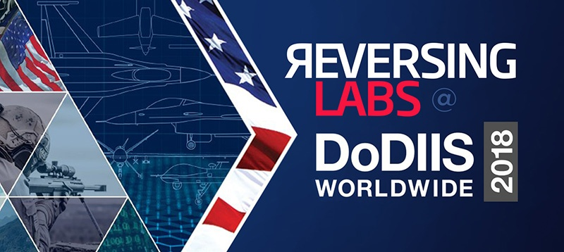 ReversingLabs exhibits at DoDIIS 2018 with our government partner Carahsoft
